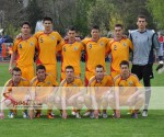 Echipa de start din amicalul cu Serbia