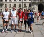 """Tibi """"IronMan"""" Muntean, Dorinel Mărgăuan, Alin Tănase, Gabriel Zaharia şi Răzvan Farkas, sau camaraderia alergătorului de cursă lungă"""
