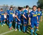 FC Timişoara, la intrarea pe teren înaintea succesului cu 3-0 cu clujenii