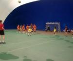 Liceul Teoretic Peciu Nou, în galben, a remizat vineri cu LPS Slatina: 16-16