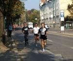 """Miclăuş pe porţiunea Maratonului de la """"Piarişti"""""""