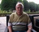 Paul Zarna, revenit pe terasă la Eclipse, unde i-a încurajat pe câţiva polişti înaintea jocului cu Dinamo