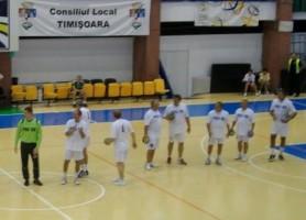 """""""Albii"""", la revederea din 2011: Janto, Nagy, Diliţă, Baranga, Georgescu, Voicu, Matei, Fölker"""