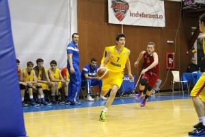 Christian Chițu la Balkan Cup U16