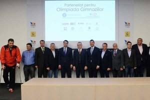 Semnatari ai parteneriatului pentru Olimpiada Gimnaziilor