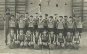 Jucator minibaschet 1978