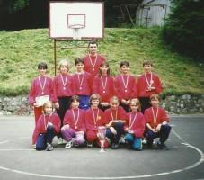 Titlu la minibaschet 1999