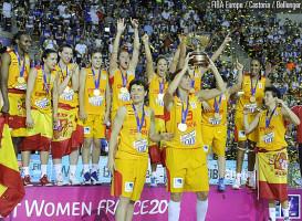 Spania - campioana EuroBasket women 2013, Photo: www.fibaeurope.com