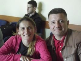 Alina Cioriciu (Leu Jimbolia) și Emil Constantinescu (CS Timișoara)