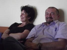 Florin Toacă și noul secretar, Daniela Bîndariu