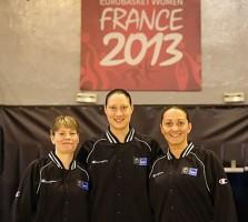 Prima brigadă feminină la un turneu final al EuroBasket-ului