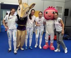 Spadasinele României, aur la European Games