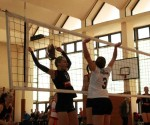 foto: fază de joc ACS Agroland - CSU Politehnica ( arhivă )