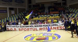 Mesajul transmis de formația arădeană în decembrie 2015, înainte de plecarea jucătoarelor importante