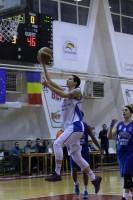 Biljana Pesovic, cea mai bună marcatoare în duelul dintre Olimpia CSU Brașov și Phoenix Galați