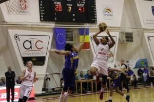 Angel Robinson a reușit 25 de puncte și 12 recuperări cu CSBT Alexandria