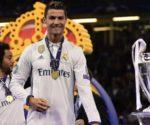 Cristiano Ronaldo, două goluri pentru Real Madrid în finala din 2017 a Champions League, 4-1 (1-1) la Cardiff cu Juventus / foto JAVIER SORIANO/AFP/Getty Images - uefa.com